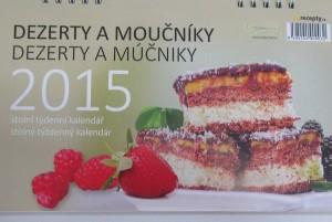 stolni kalendar 2015 - dezerty a moucniky