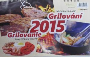 stolni kalendar 2015 - grilovani