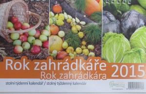 stolni kalendar 2015 - rok zahradkare