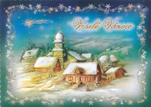 vanocni pohlednice 5