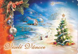 vanocni pohlednice 7