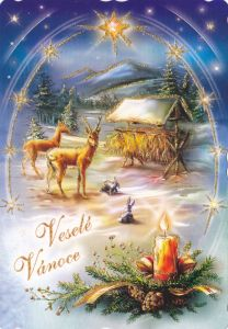 vanocni pohlednice 8