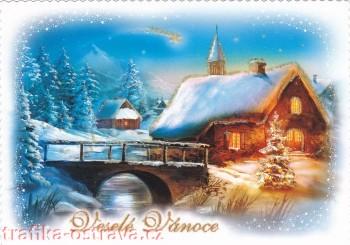 vanocni pohlednice - trafika ostrava 1