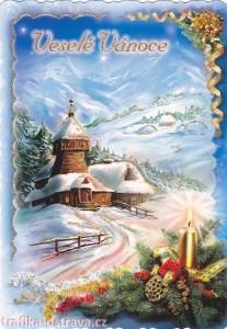 vanocni pohlednice - trafika ostrava 6